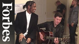 Shawn Mendes and A$AP Rocky