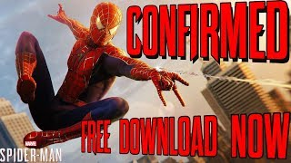 Spider-Man PS4 RAIMI SUIT CONFIRMED AND FREE TO DOWNLOAD!