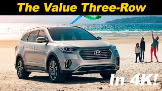2017 Hyundai Santa Fe Review and Road Test | DETAILED in 4K UHD!