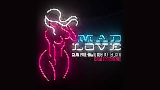 Sean Paul & David Guetta - Mad Love ft. Becky G (Cheat Codes Remix) [Official Audio]