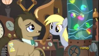Derpy Hooves in Doctor Whooves lab (full scene)