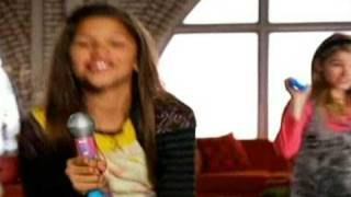 Stefanie Scott + Zendaya - Commercial for iCarly Fashion Switch Figures