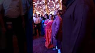 Srilekha mitra and rajatava dutta pandel hopping in chandannagar jagadhatri puja...