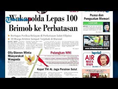 Waspada ISIS, Wakapolda Sulut Lepas 100 Brimob ke Perbatasan