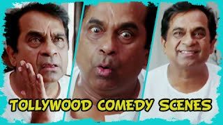 Brahmanandam Best Tollywood Comedy Scenes Dubbed In Hindi 2015 - Must Watch!!