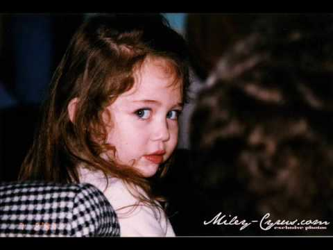 Miley Cyrus From Adorable Baby to Gorgeous 14 Year Old. She s nineteen now I know.