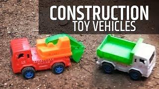 Construction Trucks for children | Excavator for kids | Construction Toys for Kids