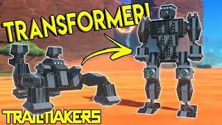 TRANSFORMER CAR MECH & WORKSHOP UPDATE! - Trailmakers Gameplay - Best Creations