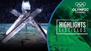 Top Moments from Olympic Winter Closing Ceremonies | Highlights Listicles