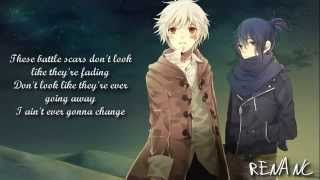 Nightcore - Battle Scars (Lyrics)