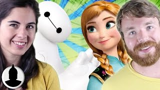 Is Big Hero 6 In The Secret Family Tree? - The Disney Universe Theory - Cartoon Conspiracy (Ep. 31)