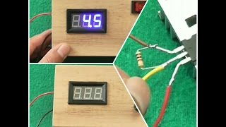 How to make a simple adjustable voltage simple power supply ic LM 317