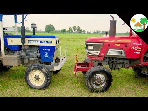 Xxx Mp4 Tractor Vs Tractor Swaraj 744 FE Vs Mahindra Arjun 555 Tractor Tochan Amp Pulling Come To Village 3gp Sex