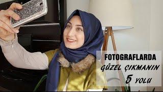 Kapalılar İçin Fotoğrafta Güzel Çıkmanın 5 Yolu│Best Hijab Photo