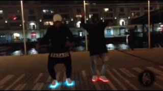 JUJU ON THAT BEAT #Dance_Challenge with Led Shoes - The Last Pharaohs