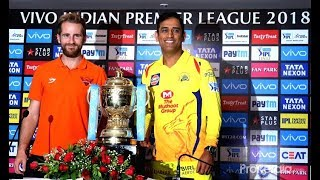 DHONI CONFERENCE OF FINAL MATCH IPL 2018 FINAL