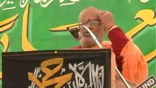 Swamy Lakshmi Shankaracharya at Tameer e Millat Meet 25th Jan Hyderabad
