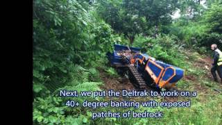 Inex Works at Mount Stuart with the Deltrak