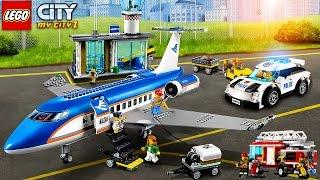 LEGO : Lego Police. NEW Airport. Police Car - LEGO Cartoon  | LEGO Game My City 2