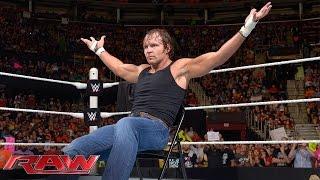 "Dean Ambrose interrupts ""Monday Night Rollins"": Raw, June 15, 2015"