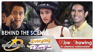 BEHIND THE SCENES: 'Everyday I Love You' | Gerald Anderson | Liza Soberano | Enrique Gil