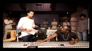 STR and AKON - Making of Love Anthem for World Peace