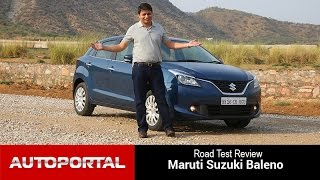 Maruti Suzuki Baleno Test Drive Review - Auto Portal