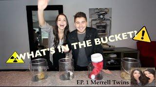 BLIND BUCKET CHALLENGE EP 1 : MERRELL TWINS