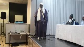 Conférence de Cherif Mamy Aidera et Tafsir Abdourahmane Gaye Dimanche 13 novembre à Marseille Partie