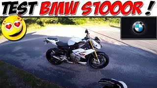 #MotoVlog 79 : TEST BMW S1000R / ROADSTER A WHEELING !!!