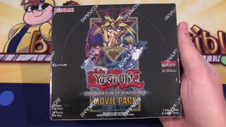 Yugioh Dark Side of Dimensions Movie Pack Box Unboxing - New Blue-Eyes & Dark Magician Cards