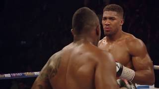 Anthony Joshua vs Dillian White the best moments