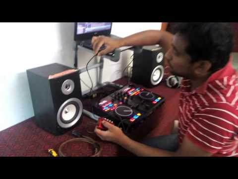 dj tech U3 professional setup with traktor pro 2 by dj gwrii @ india # tamilnadu #