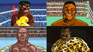Evolution of Final Boss Fights in Punch-Out!!