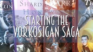 Starting the Vorkosigan Saga by Lois McMaster Bujold | #booktubesff