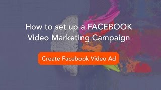 How To Create A Facebook Video Marketing Campaign | (Part 1) Video Marketing Strategy