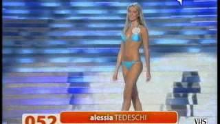 Miss Italia 2008 - Presentazione delle 100 finaliste (1/4)