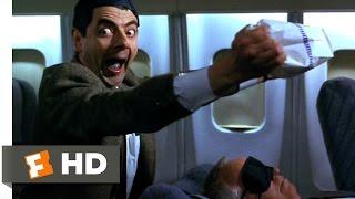Bean (2/12) Movie CLIP - Air Sickness (1997) HD