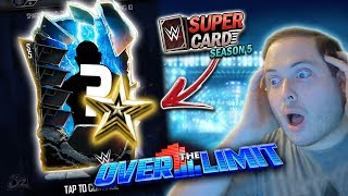 Over the Limit Luck!! Shattered Pro Pull   WWE SuperCard Season 5