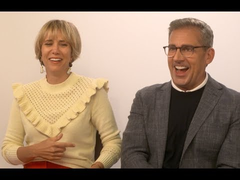 Kristen Wiig and Steve Carell Mimic Each Other Despicable Me 3 EXCLUSIVE INTERVIEW