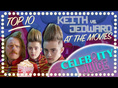 Keith Vs. Jedward Top 10 Best Bits | At the Movies | Celebrity Juice | Best Bits