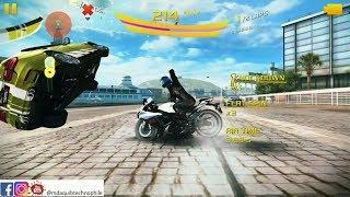 Asphalt 8 Bike update Barcelona Gameplay 60FPS