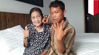 Pernikahan nenek dan anak muda di Sumatera Selatan menjadi sensasi   - TomoNews