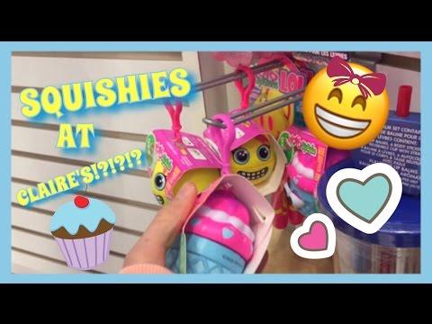 SQUISHIES AT CLAIRE'S!!!!!! | YOYO LIP BALM SQUISHY!!