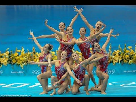 Nuoto Sincronizzato - Olimpiadi Londra 2012 - Squadra Tecnica Cina