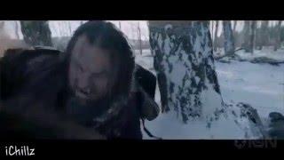 The Revenant - Movie clip fight scene  - Tom Hardy Leonardo DiCaprio