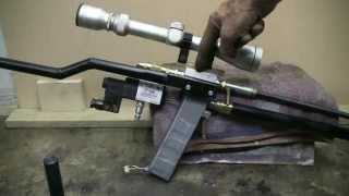 DIY Semi Auto Air Rifle Made With QEV