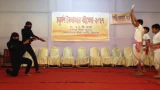 Dance drama on ami banglay gan gai song by Renessus Cultural Organisation(RC0)