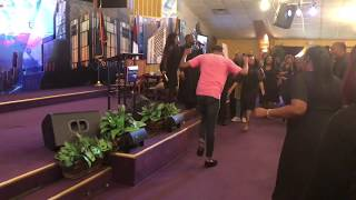 Crazy Praise Break at The Harvest Tabernacle Church!!! 5/6/18