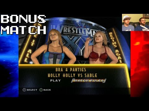 Bonus Match: WWE SmackDown! Vs. Raw: Bra & Panties Match